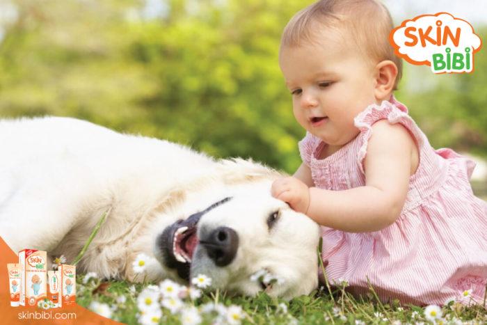 Trẻ dễ bị kích ứng với lông động vật