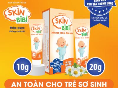 SkinBiBi – Kem bôi da trẻ em đầu tiên được bệnh viện phụ sản Trung Ương nghiên cứu và chứng nhận.