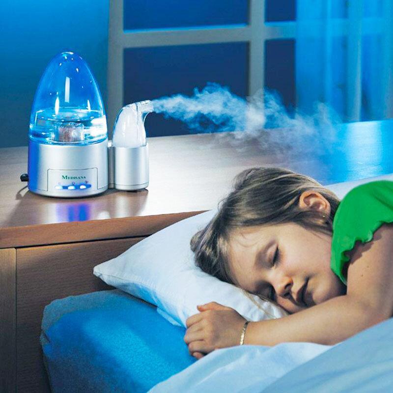 sử dụng máy tạo ẩm làm giảm tình trạng khô da