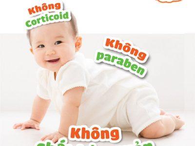 Vì sao Skinbibi là kem bôi da trẻ em được tin dùng tại Việt Nam?